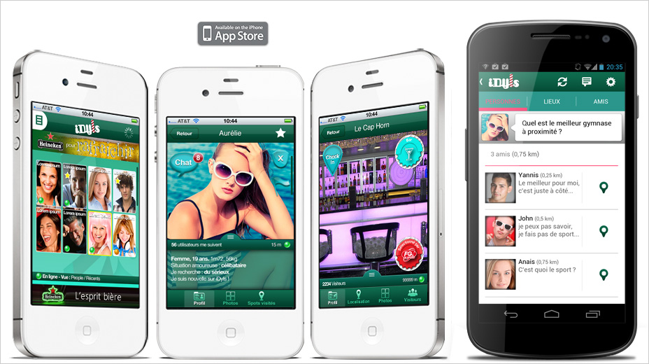 Application iphone site de rencontre